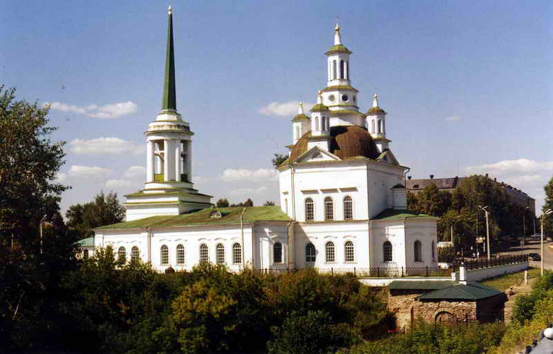 Свято-Троицком соборе были